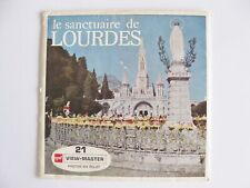 VIEW MASTER VIEWMASTER LE SANCTUAIRE DE LOURDES Only Packet No Reels