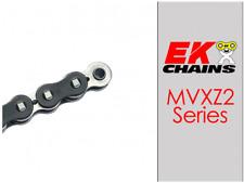 EK MVXZ2-520 MOTORCYCLE CHAIN 120 LINKS TENSILE STRENGTH 9000 lbs BLACK