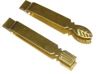 Set of 2 Traditional Thai Kitchen Tool brass tweezers for Thai sweet Cheamewg