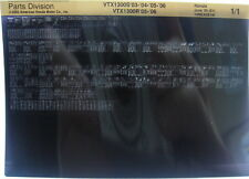 Honda VTX1300S 2003 - 2006 Parts List Microfiche h379