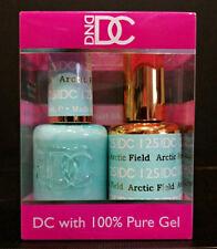 DND DC Soak Off Gel Polish Arctic Field 125 LED/UV 6oz 18ml Gel Duo Set NEW