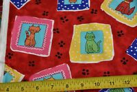"""Fabric by the yard Blank Fabrics/""""And Sew it Goes/"""" Pat BTR 5949-M Col White"""