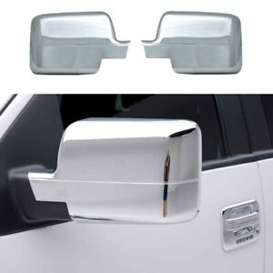 For 2004 2005 2006 2007 2008 Ford F150 F-150 Chrome Full Mirror Covers PAIR