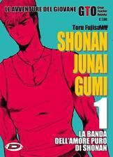 GTO SHONAN JUNAI GUMI DALL' 1 AL 15 - COMPLETA - MANGA DYNIT - NUOVO