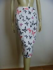 LAURA ASHLEY Linen Skirt sz 8 NEW Tags RRP $139 - BUY Any 5 Items = Free Post