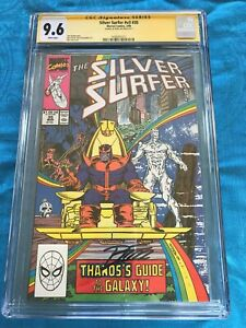 Silver Surfer #35 - Marvel - CGC SS 9.6 NM+ - Signed by Ron Lim - Thanos