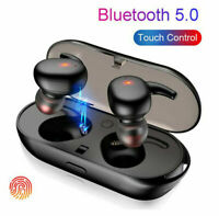 Bluetooth 5.0 Wireless Headphones TWS Earphones Mini In-Ear Pods For IOS Android