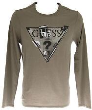 Maglia t-shirt girocollo uomo GUESS a.M44I19 T.XS c.D144 TUMBLEWEED