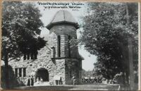Ypsilanti, MI 1911 Postcard: Starkweather Hall - Michigan Mich