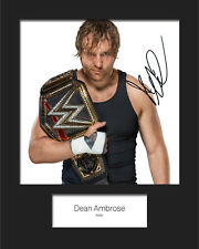 SIGNED Pete Dunne #1 WWE 10X8 PRE PRINTED LAB QUALITY PHOTO FREE DEL