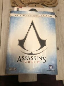 Hardcover Assassins Creed Limited Edition Art Book With Map Poster