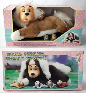VERY RARE VINTAGE 90'S POUND PUPPIES MAMA PUPPY KOKIDO NEW SEALED !