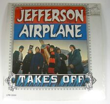 Jefferson Airplane TAKES OFF 1966 Album LPM 3584 Stereo LSP 3584 Shrink Wrap VG