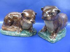 More details for otter salt & pepper - otter cruet - gift boxed - new
