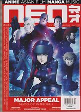 NEO MAGAZINE #150 JUNE 2016, ANIME ASIAN FILM MANGA MUSIC, MAJOR APPEAL,NO LABEL