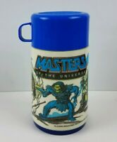 Vintage 1983 Aladdin Mattel Masters of the Universe Lunch Box Thermos Complete