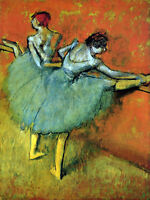 """perfect 24x36 oil painting handpainted on canvas """"Dancers """"N3965"""