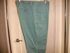New $158 Bonobos Green Foundation Dress Pants Italian Cotton Straight Leg 36/32
