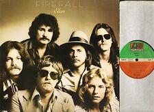 Firefall Elan ATL 50 494 with inner Pochette german atlantic 1978 LP PS EX/EX
