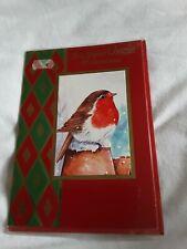 Uncle Christmas Card BNIP - robin
