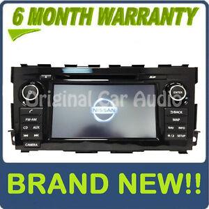 NEW 13 14 15 Nissan ALTIMA OEM Radio GPS Navigation Bluetooth MP3 CD Player AUX