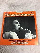 Original 45 Record (Sleeve )Elvis Presley RCA (there Goes My Everything )