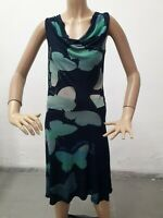 Vestito DESIGUAL Donna Dress Woman Veste Femme Taglia size M Viscosa 8583