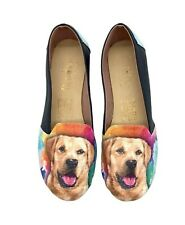 Labrador Vegan Leather Slip ons Shoes, pet lovers, women shoes