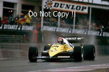 Eddie Cheever Renault RE40 Belgian Grand Prix 1983 Photograph 1