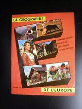 La géographie de l'Europe Tome 3 Timbre Tintin