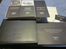 2011 BENTLEY SUPERSPORTS CABRIO OWNERS MANUAL MANUEL DU PROPRIETAIRE NEW FRENCH