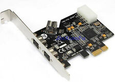 3 ports Firewire 800 IEEE1394B 2+1 ports To PCI-E Express card Ti XIO2213 Chip