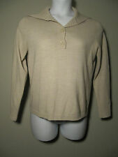 Womens Raisey Beige Pullover Sweater Size L Casual Career Wear