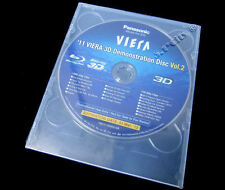 New! Panasonic 3D Demo Genuine Blu Ray Disc 2011 Vol 2 (Ok w/Samsung,Sony,LG TV)