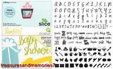 SLICE Design Card PARTIES 33746 Making Memories