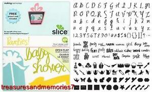 SLICE Design Card PARTIES 33746 Making Memories