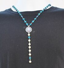 FRANCE JERSEY NECKLACE, FFF Logo Colors Necklace World Cup NEW