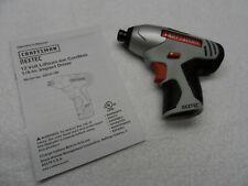 Craftsman Nextec 12-volt Impact Driver (bare tool) - Model 320.61189