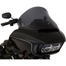 "Klock Werks 15"" Dark Smoke Pro Touring Flare Windshield Harley Road Glide 15-18"