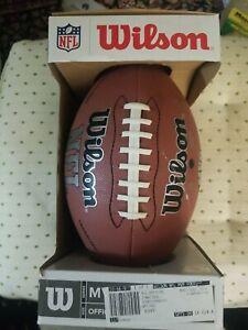 Wilson NFL MVP Football Composite Regulation Size New in Original Box