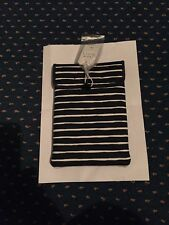 Jack Wills iPad Mini/Tablet Case - Navy And White Striped