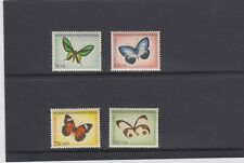 NETHERLANDS NEW GUINEA 1960 BUTTERFLIES SET OF 4 MNH. SG 69/72.CAT. £7.25.