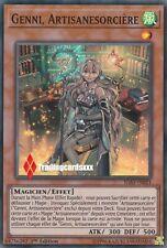 ♦Yu-Gi-Oh!♦ Genni, Artisanesorcière (Witchcrafter) : IGAS-FR021 -VF/Super Rare-