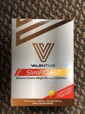 Valentus Slim Roast Coffee Dark Italian Roast, 1 Box, 24 packets, Free Shipping!