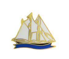Segelboot Schooner Anstecker