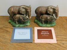 Franklin Mint The African Elephant Figurines from 1989