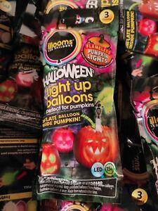 illooms LED balloons - 15 Halloween Light Up Balloons 5 X (3 Pack)