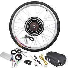 "36V 500W 26"" Rear Wheel Electric Bicycle Motor Kit eBike Cycling Hub Conversion"