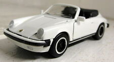 NZG 1/43 Scale Porsche 911 930 Cabriolet White Vintage diecast model car