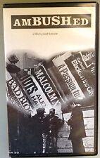 amBUSHed - Award-Winning Independent Film - South End, Boston, MA - PAL VHS tape